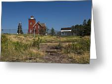 Two Harbors Mn Lighthouse 21 Greeting Card