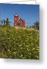 Two Harbors Mn Lighthouse 22 Greeting Card
