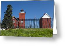 Two Harbors Mn Lighthouse 25 Greeting Card