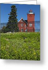 Two Harbors Mn Lighthouse 26 Greeting Card