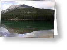 Two Jack Lake Sunset - Banff Nat. Park, Alberta Greeting Card