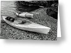 Two Kayaks On Seneca Lake Greeting Card