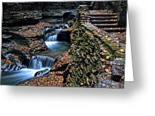 Two Kinds Of Steps Greeting Card by Frozen in Time Fine Art Photography