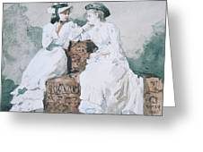 Two Ladies Greeting Card