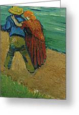 Two Lovers Greeting Card