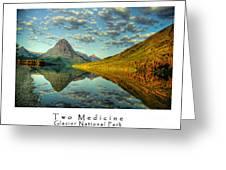 Two Medicine Lake Sunrise Greeting Card