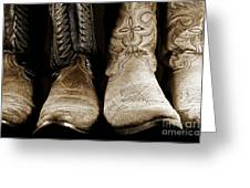 Two Pair Of Cowboy Boots Are Better Than One Greeting Card