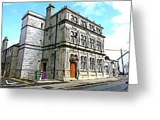 Two Rubbish Bins In Sligo Greeting Card