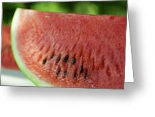 Two Slices Of Watermelon Greeting Card