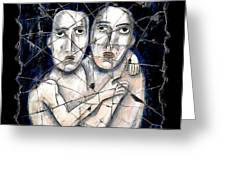 Two Souls Greeting Card