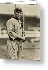 Ty Cobb  Poster Greeting Card