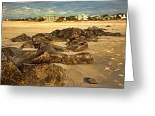 Tybee Island Landscape Greeting Card