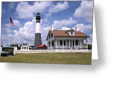 Tybee Island Light Greeting Card