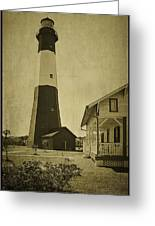 Tybee Island Light Station Greeting Card