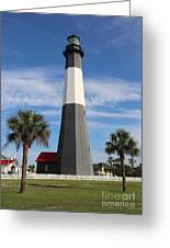 Tybee Island Lighthouse Greeting Card