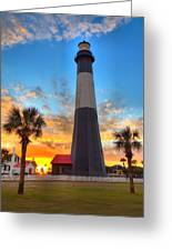 Tybee Island Sunrise Greeting Card