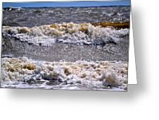 Tybee Waves Greeting Card