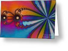 Tye Dye Greeting Card