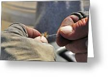 Tying Flies For Snake River Cutthroat Trout Greeting Card
