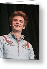 Tyler Hilton Greeting Card