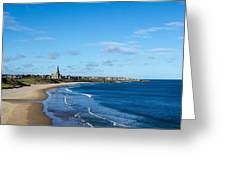 Tynemouth Longsands Greeting Card