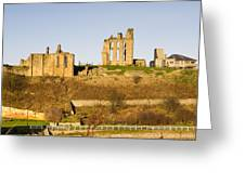 Tynemouth Priory And Castle Greeting Card