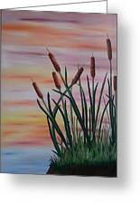 Typha Greeting Card