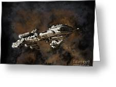 Typhon And Nebula Greeting Card