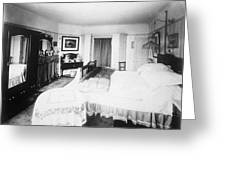 Typical Edwardian Bedroom With Large Photograph By Mary Evans Picture Library