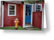 Typical Rockport Massachusetts Greeting Card
