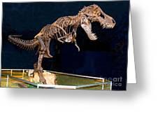 Tyrannosaurus Rex Greeting Card