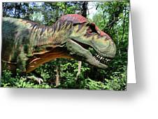 Tyrannosaurus Rex  T. Rex Greeting Card