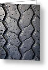 Tyre Tread Greeting Card