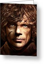 Tyrion Lannister - Peter Dinklage Game Of Thrones Artwork 2 Greeting Card