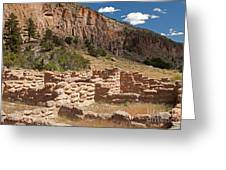 Tyuonyi Bandelier National Monument Greeting Card