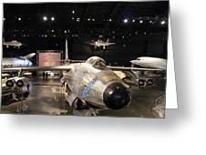 U S Air Force Museum Greeting Card