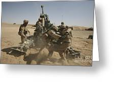 U. S. Marines Ram A Satellite-guided Greeting Card