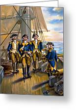 U S Navy Commander In Chief Of The Fleet Greeting Card by The Werner Company