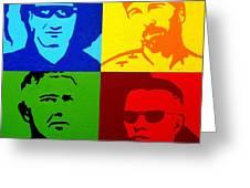 U2 Greeting Card