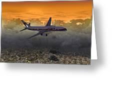Ua 757 20x10 01 Greeting Card