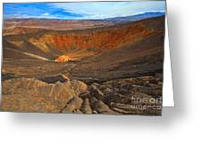 Ubehebe At Death Valley Greeting Card