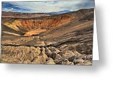 Ubehebe Crater Greeting Card
