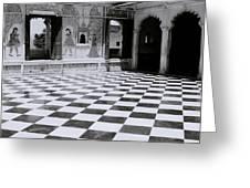 Udaipur Royalty Greeting Card