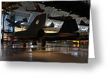 Udvar-hazy Center - Smithsonian National Air And Space Museum Annex - 121247 Greeting Card by DC Photographer