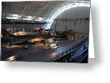 Udvar-hazy Center - Smithsonian National Air And Space Museum Annex - 12125 Greeting Card by DC Photographer