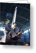 Udvar-hazy Center - Smithsonian National Air And Space Museum Annex - 121269 Greeting Card by DC Photographer