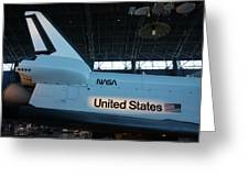 Udvar-hazy Center - Smithsonian National Air And Space Museum Annex - 121276 Greeting Card