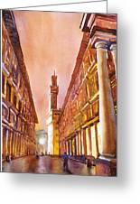 Uffizi- Florence Greeting Card