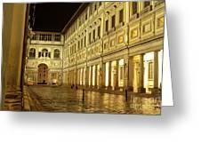 Uffizi Gallery Florence Italy Greeting Card