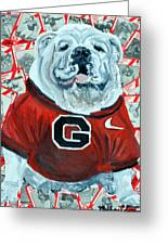 Uga Bulldog II Greeting Card